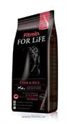 Fitmin dog For Life Lamb & Rice корм д/с всех пород ягненок/рис