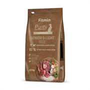 Fitmin Dog Purity корм д/с стареющих лайт рис, дичь,ягненок  (12 кг)