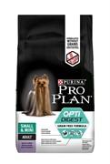 Purina Pro Plan Small & Mini Adult OptiDigest Grain Free Turkey / Сухой Беззерновой корм Пурина Про План для взрослых собак Мелких и Карликовых пород с Чувствительным пищеварением Индейка 7 кг