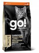 GO! беззерновой корм для котят и кошек, с ягненком и мясом дикого кабана, GO! CARNIVORE GF Lamb + Wild Boar (7,26 кг)