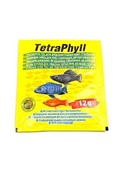 TetraPhyll Корм д/травоядных рыб, хлопья 12г