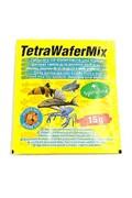 Tetra WaferMix Корм д/травоядных, хищных и донных рыб с добавлением креветок, пластинки 15г