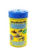 Tetra WaferMix Корм д/травоядных, хищных и донных рыб с добавлением креветок, пластинки 100мл