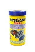 Tetra Cichlid Sticks Корм д/цихлид и крупных декоративных рыб, палочки 250мл