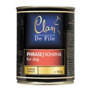 Clan De File консервы для собак (с кониной)