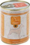 Clan CLASSIC консервы для собак «Мясное ассорти с индейкой»