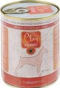 Clan CLASSIC консервы для собак «Мясное ассорти с говядиной»