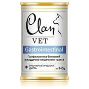 Clan Vet GASTROINTESTINAL Диетические консервы для собак Профилактика болезней ЖКТ