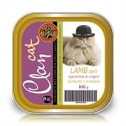 Clan консервы-деликатес для кошек (с ягненком)