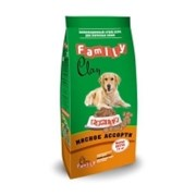Clan Family сухой корм для собак всех пород (мясное ассорти)