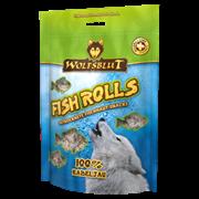 WOLFSBLUT (ВОЛЧЬЯ КРОВЬ) FISH SNACKS 100 ГР. - FISH ROLLS KABELJAU (РОЛЛЫ ИЗ ТРЕСКИ)