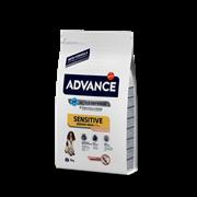 Advance Для собак с чувствительным пищеварением: лосось и рис (Sensitive) 12 кг
