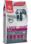 BLITZ ADULT LARGE&GIANT BREEDS/корм для собак крупных пород