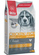 BLITZ PUPPI Chicken &Rice корм для щенков
