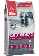 BLITZ ADULT LARGE&GIANT BREEDS/корм для собак крупных пород (15 кг)