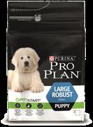 PRO PLAN® OPTISTART® для щенков крупных пород мощного телосложения (3 кг)