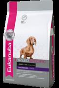 Сухой корм Eukanuba Dog DNA для взрослых собак породы такса с курицей (2,5кг)