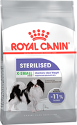 ROYAL CANIN X-SMALL STERILISED Для стерилизованных собак карликовых пород с 10 месяцев