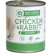 Nature's Protection  Puppy Chicken & Rabbit кон.д/щенков Курица/Кролик