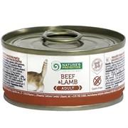 Nature's Protection Adult Beef & Lamb кон.д/кошек Говядина/Ягненок