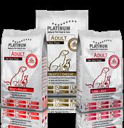 Platinum Ассорти ТРИО №8 (Ягненок+Свинина+Говядина) 15 кг