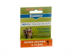 Canina PETVITAL Novermin (антипаразитарные капли Новермин для собак) 4 мл