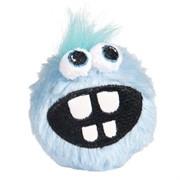 Rogz Плюшевый мяч для щенков с принтом зубы GRINZ PLUSH, голубой