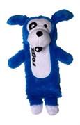 Rogz Мягкая игрушка с карманом для пластиковой бутылки THINZ, синий