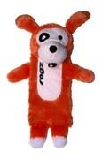 Rogz Мягкая игрушка с карманом для пластиковой бутылки THINZ, оранжевый