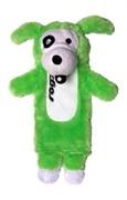 Rogz Мягкая игрушка с карманом для пластиковой бутылки THINZ, лайм