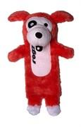 Rogz Мягкая игрушка с карманом для пластиковой бутылки THINZ, красный