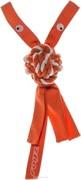 Rogz Канатная игрушка с пищалкой COWBOYZ, оранжевый