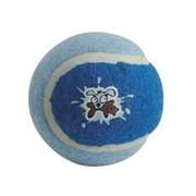 Rogz Игрушка для щенков теннисный мяч, голубой