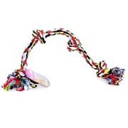 """Papillon Игрушка для собак """"Веревка с 4 узлами"""", хлопок, 60 см"""