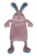 Игрушка для собак Кролик шуршащий, с пищалкой, плюш, 35 см