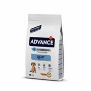 Advance Для собак малых пород с курицей и рисом, контроль веса (Mini Light)