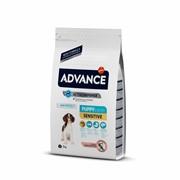 Advance Для щенков с чувствительным пищеварением: лосось и рис (Puppy Sensitive) 12 кг