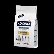 Advance Для кошек с чувствительным пищеварением: лосось и рис (Adult Salmon Sensitive) (10 кг)