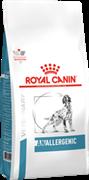 ROYAL CANIN ветеринарный для собак при пищевой аллергии с острой непереносимостью, Anallergenic (8 кг)