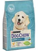 DOG CHOW Пурина Дог Чау корм для щенков всех пород курица