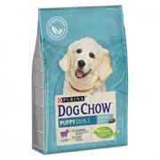 DOG CHOW Пурина Дог Чау корм для щенков ягненок/рис