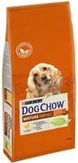 DOG CHOW Пурина Дог Чау корм для собак старшего возраста (5-9 лет) курица (14 кг)