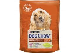 DOG CHOW Пурина Дог Чау корм для собак старшего возраста (5-9 лет) ягненок