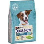 Dog Chow Puppy для щенков мелких пород курица