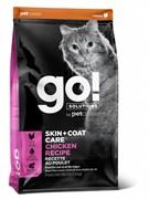 GO! NATURAL HOLISTIC Для котят и кошек с цельной курицей, фруктами и овощами, DAILY DEFENCE™ Chicken Cat Recipe