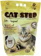 Cat Step растительный TOFU Original 6л комкующийся