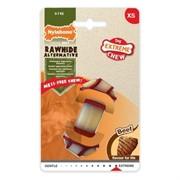 Nylabone Узел экстра-жесткий с ароматом говядины, для собак разных пород