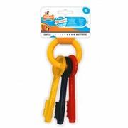 Nylabone Игрушка-ключи с ароматом бекона для щенков с режущимися зубами