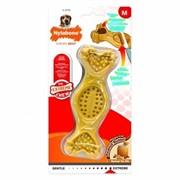 Nylabone Игрушка-косточка для лакомств экстра-жесткая, с ароматом арахисовой пасты 80 гр