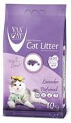 VAN CAT Комкующийся наполнитель без пыли с ароматом Лаванды, пакет (Lavender) ФИОЛЕТОВЫЙ 10 кг